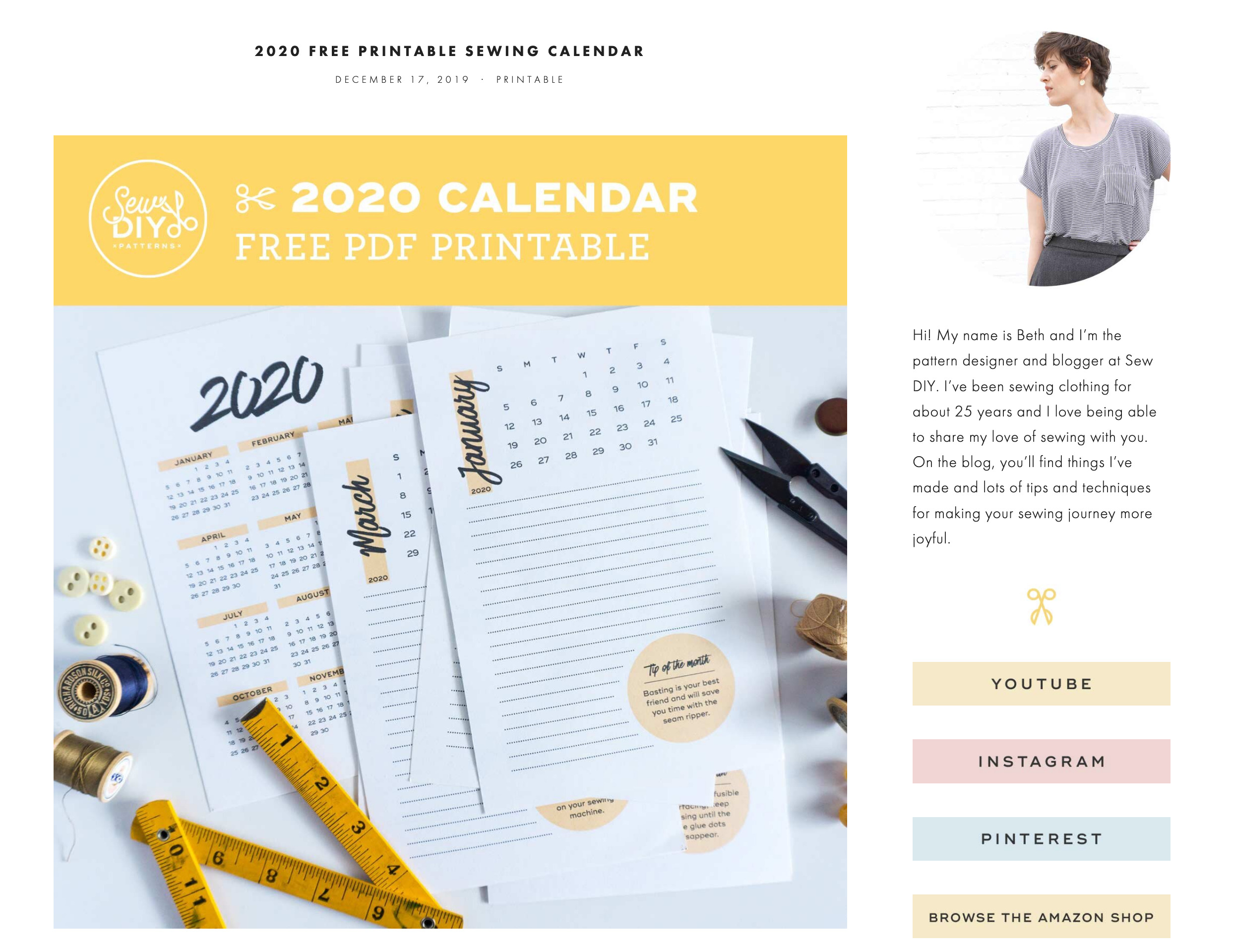 Screenshot_2019-12-29 2020 Free Printable Sewing Calendar — Sew DIY